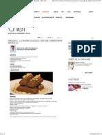 (31_01_2014 - La barre chocolatée de Christophe Michalak - Recettes - Dans la peau d'un chef - France 2)