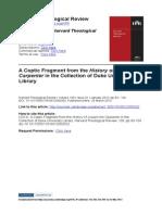 Suciu - History of Joseph the Carpenter Duke