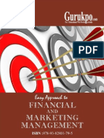 Financial & Marketing Management