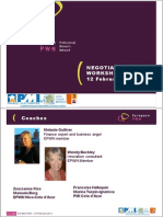 Cote Azur Fevrier 2013 NegotiatioNEGOTIATING SKILLS