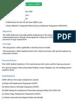 Poverty Alleviation Schemes