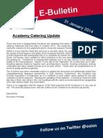 E-Bulletin 31 Jan 2014