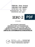Malaguti F10 Varianti Euro 2 INT M0023