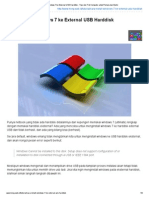 Cara Install Windows 7 Ke External USB Harddisk - Tips Dan Trik Komputer Untuk Pemula Dan Mahir