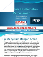 Dive Safety Information - Bahasa