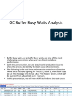 Gc Buffer Busy