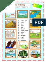 3 - Landscapes - Vocabulary (1)