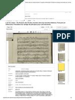 L'art du violon _ Ou Division des Ecoles choisies dans les Sonates Italienne, Française et Allemande; Précédée d'un abrége de principes pour cet Instrument