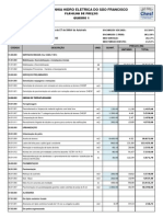 Planilha orçamentária  - CT 500 kV - REV1