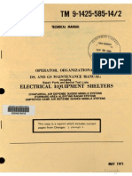 Tm 9-1430-585-14-2 Faar, Chapparal, Ihawk Electr. Shelters