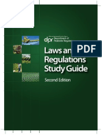 Laws Regs Study Guide