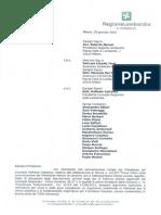 Pedemontana e diossina - Lettera della consigliera Barzaghi