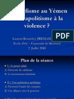 Salafisme Apolitisme Violence