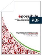 Michele Grimaldi Documento Programmatico