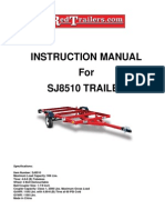 SJ 8510 Trailer Instructions