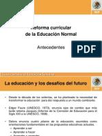 Reforma Curricular 12-07-2011