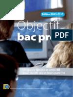 Objectif Bac Pro Auvergne