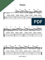 Technique - Full Score