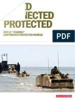 """LIFTED CONNECTED PROTECTED BVS10 """"GOANNA"""" AMPHIBIOUS PROTECTED VEHICLE"""