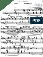 Debussy Estampes pdf