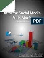 Informe Social Media VM Enero 2014