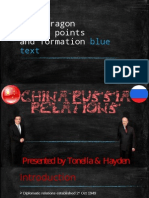 China - Russia Relations 2003