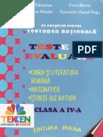 Ne pregatim pentru testare nationala Clasa.4