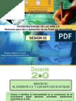 Intercreatividad en Las Web 2 - Sesion 02 Docentes 20