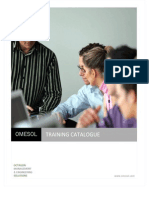 OMESOL Training Catalogue Asia