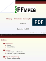 FFmpeg - Multimedia Hacking for the Masses