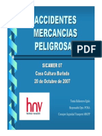 Accidentes Mercancias Peligrosas