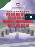 Panduan Pengelolaan Balapan & Padang