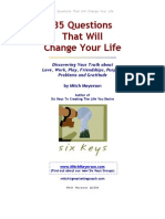 35 Questions to Change Your Life