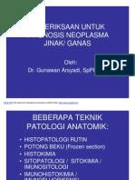 Pemeriksaan- Diagnosis Neoplasma Jinak-Ganas