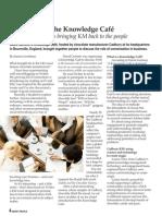 Sugar rush at the Knowledge Café (FREE pdf)