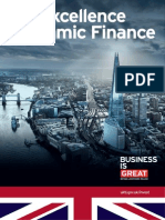 Islamic Finance Excellence in UK