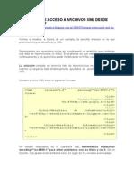 Ejemplo de Acceso a Archivos XML Desde Javascript