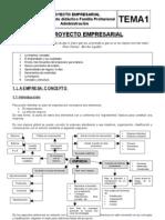 TEMA1 El Proyecto empresarial