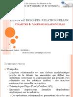 Ch1 Algèbre relationnelle