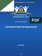 Introducere in Pedagogie