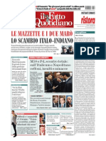 Sonia Gandhi & Ahmed Patel's corruption featured in Italian newspaper