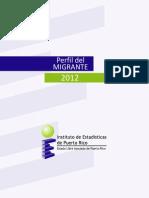 Perfil del Migrante2012