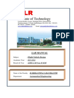 FVD Lab Manual