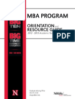 MBA OrientationGuide