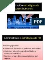 Administracion Estrategica de Recursos Humanos Parte 1 Segundo Ciclo 2013