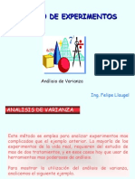 Analisis de Varanza