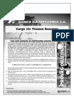Conhecimento Bancários CESPE - BASA12_024_45