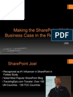 Making the Share Point 2013 Business Case