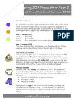 Year 2 Newsletter Spring 2014 Downsell Primary