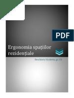 ergonomia spatiilor rezidentiale
